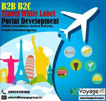 Leading B2B B2C Travel White Label Portal Development in India
