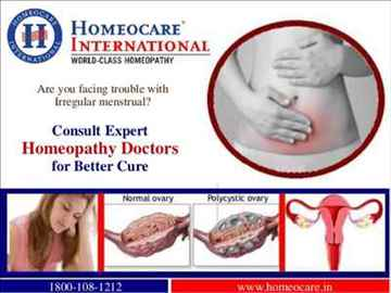 PCOS can be cured through Homeopathy treatment