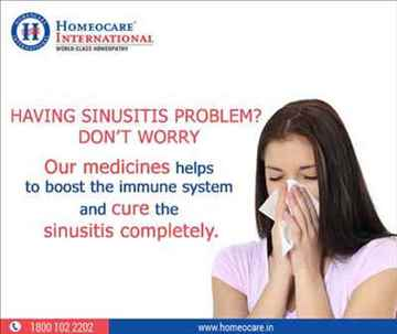 Effective sinusitis cure with Holistic Homeopathy Approach