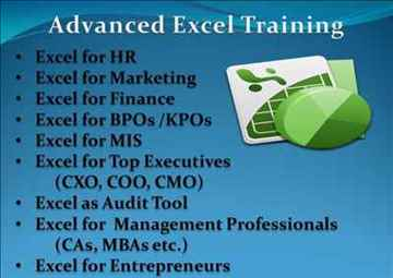 Advanced Excel Training for Corporate in Pune