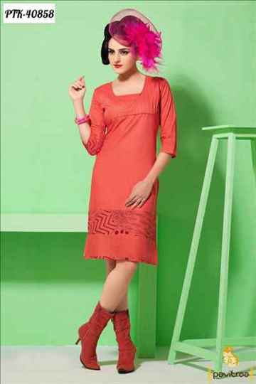 Online Cotton Casual Kurtis for Women