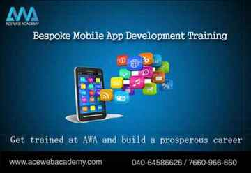 Bespoke Mobile App Development Training Ace Web Academy