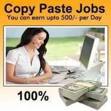 online Copy Paste Jobs Work form Home at your Free time