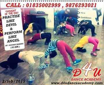 DANCE CLASSES IN AMRITSAR D4U DANCE ACADEMY