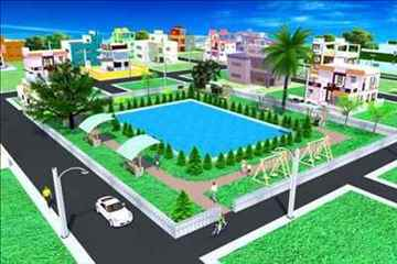 Land for sale in Baruipur on D H Road with EMI Facility