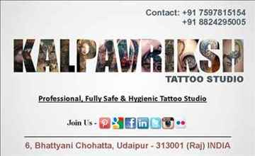 tattoo and tattoo training in udaipur