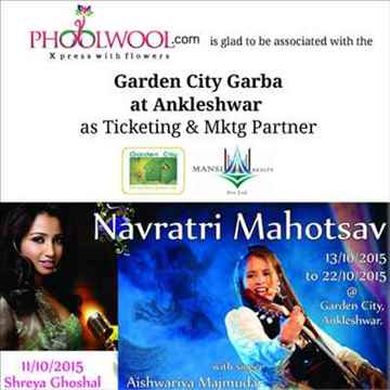 Navratri Garba Mahotsav at Garden City Ankleshwar