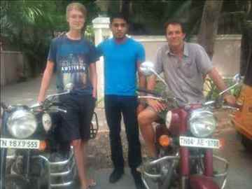 Rent harely ducati royalenfield motorcycles scooters in Chennai
