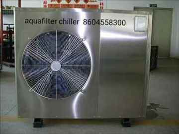 Aquafilter Online water chiller for RO Plant and industrial use