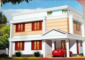 1492 sqft 3bedroom villa for sale at Estillo sarang ambadi Junction near bye pass road Kudamaloor