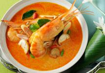 Thai Food Tom Yam Kung