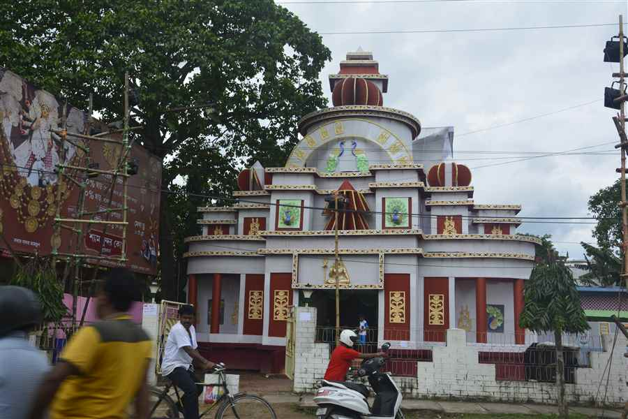 Photos of Agartala Durga Puja