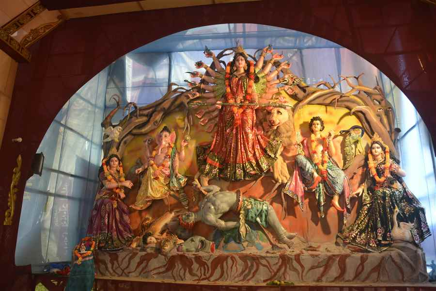 Images of Agartala Durga Puja