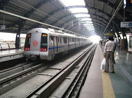 Metro rail in Faridabad
