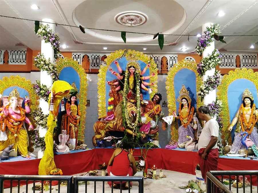 Puja in Guwahati