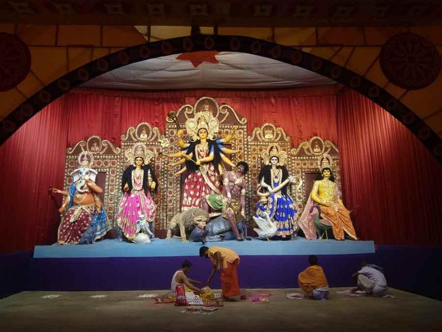 Guwahati Puja Pandals