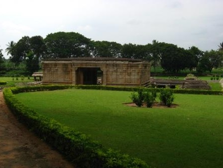 Lawn Around Shiva Temple