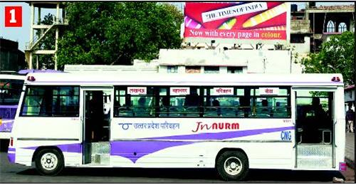 Buses from Kanpur
