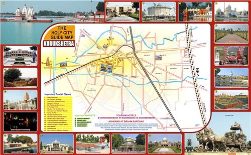 Map of Kurukshetra