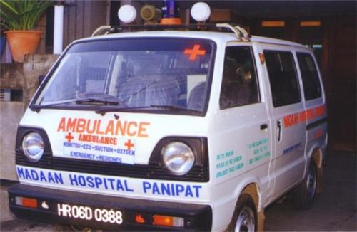 Ambulance services in Panipat city