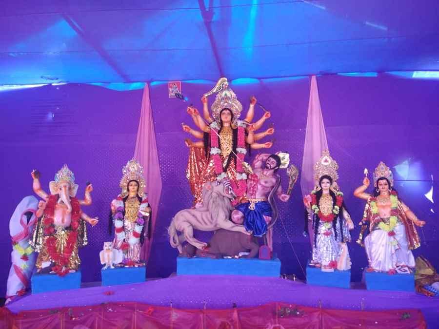 Sarbajanin Bikashpur Durga Puja Palan Samiti
