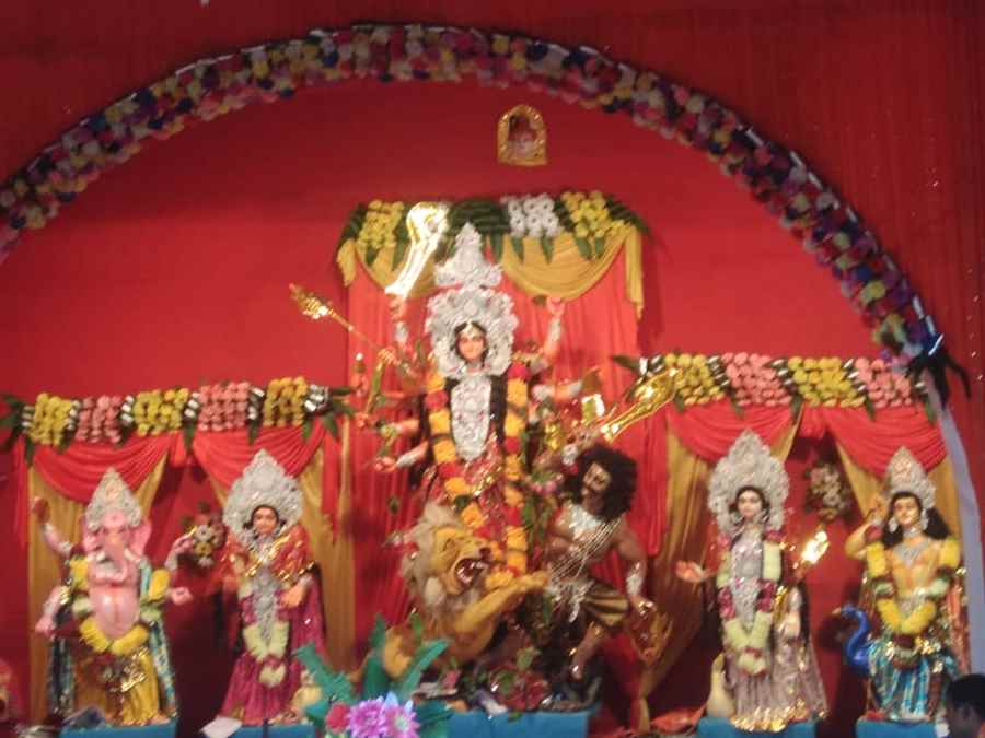 Sri Sri Parbatia Shiv Mandir Durga Puja