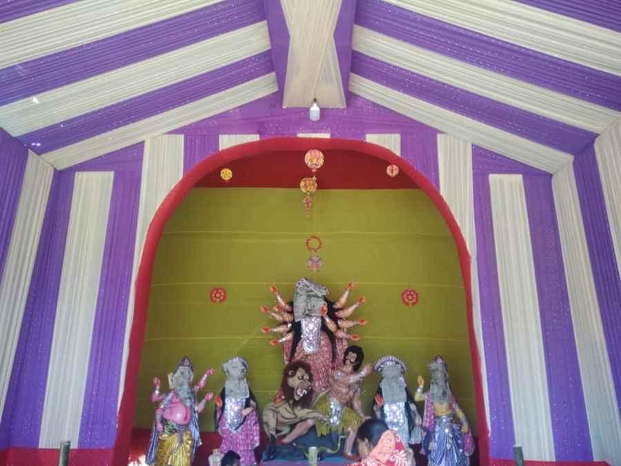 Katchujan Banglaguri Durga Puja