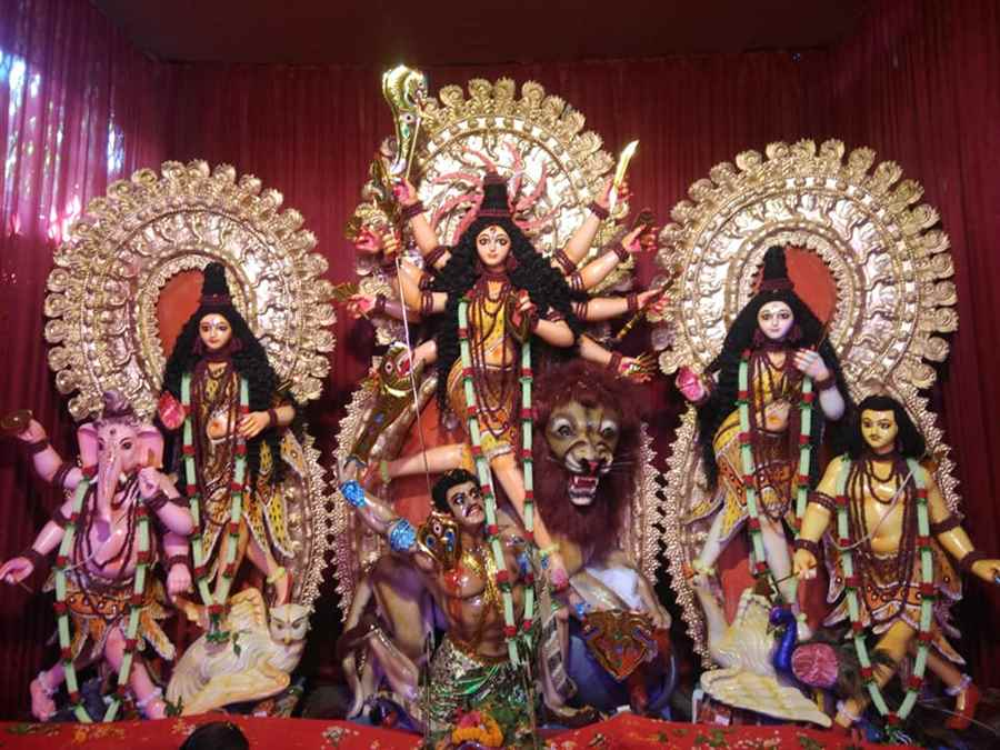 Makum Road Durga Puja