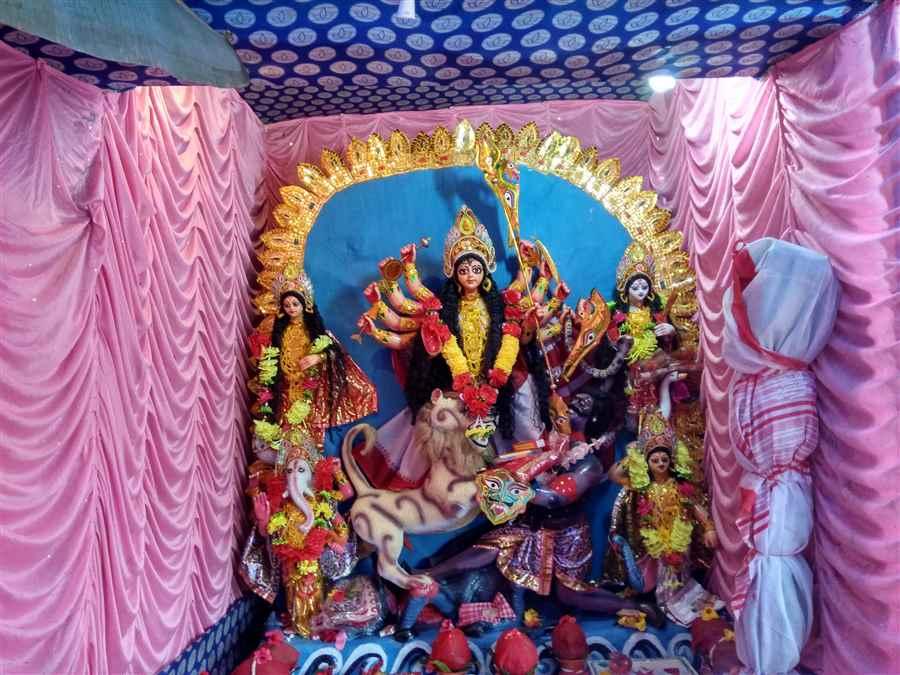 Durga Puja Samiti in Tinsukia