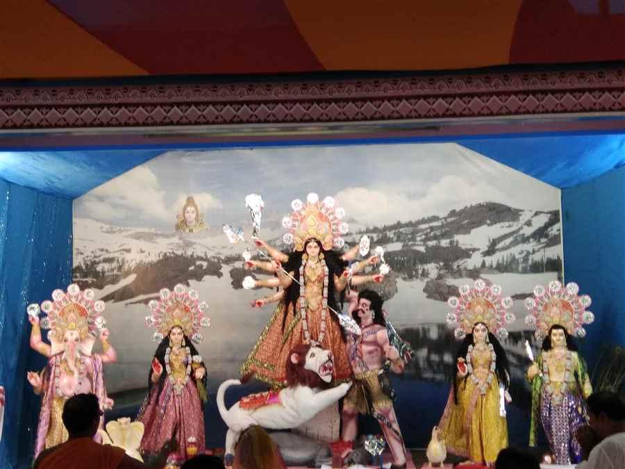 Durga Puja celebration in Tinsukia