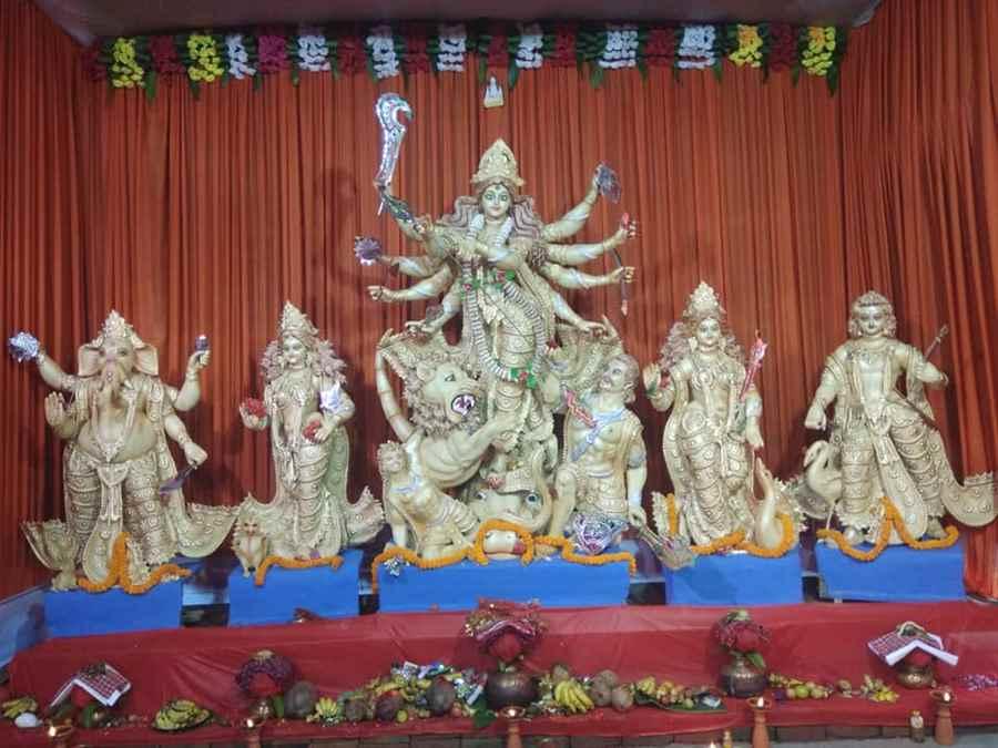 Nepali Mandir Durga Puja