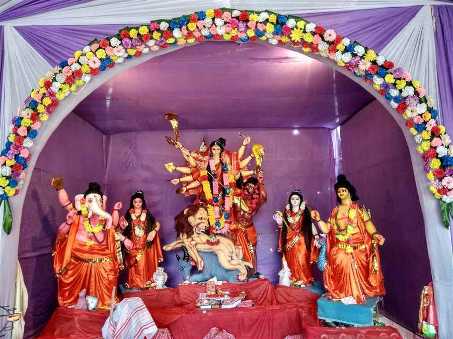 Pub Parbatia Durga Puja