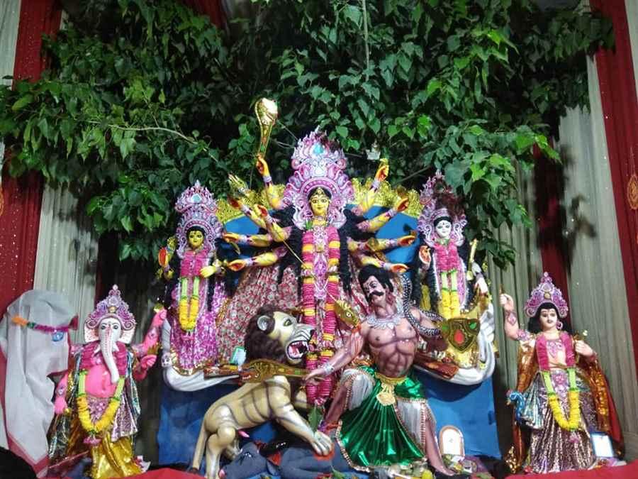 Prakash Bazar Durga Puja
