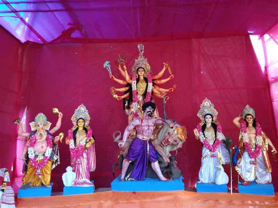 Bikaspur Durga Puja