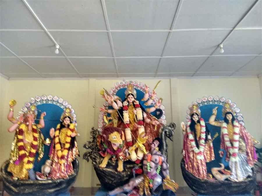 Durga Puja Committee in Guijan