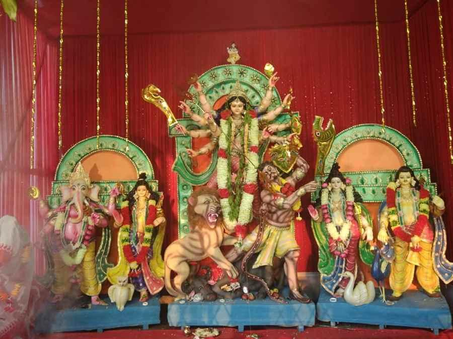Raja Ali Road Durga Puja