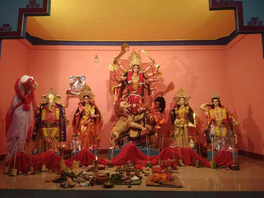 Sri Sri Sarbajanik Durga Puja Kaptanchuk, Laipuli