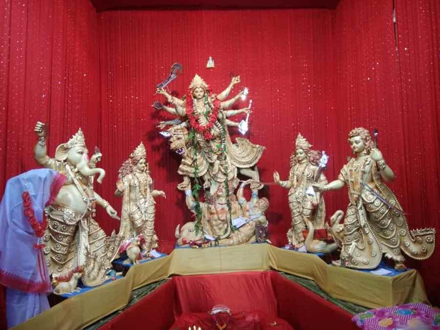 Sripuria Nepali Shiv Mandir Durga Puja