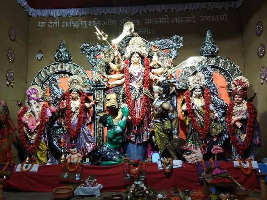 Sri Nav Durga Puja Samiti- Rani Sati Durga Puja - Best Puja -
