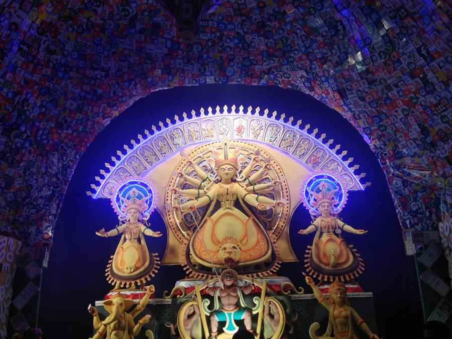 Sripuria Purvanchal Durgapuja Committee- Creative Excellence award