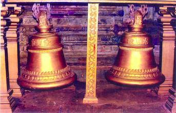 Bells in Lord Venkateshwara temple