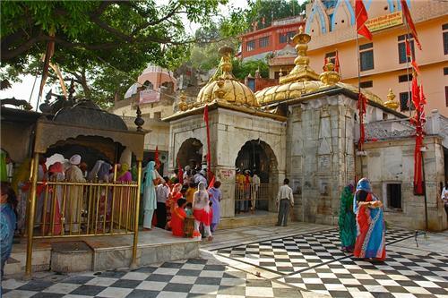 Jwalamukhi Temple in Kangra District