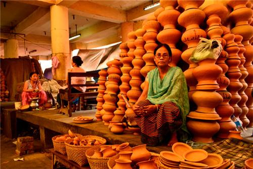 Market Places in Imphal