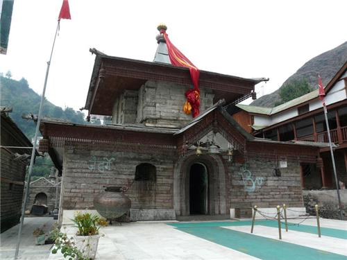 Inside the Hatkoti Temple