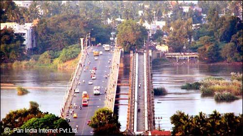 Beautiful View ofCauvery Bridge Trichy