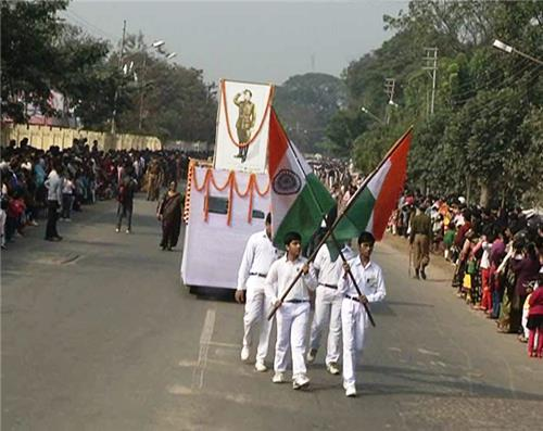 Netaji's Birth Anniversary in Agartala