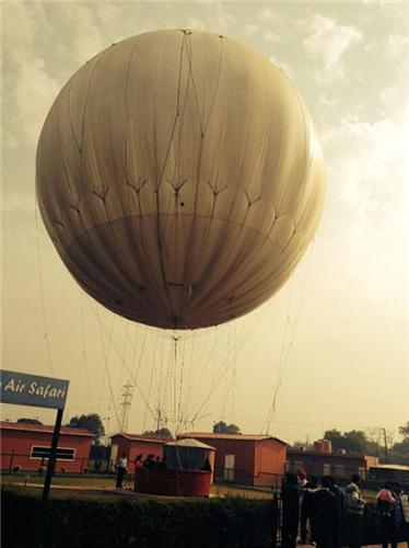 Air Safari in Agra