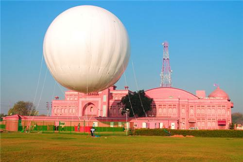 air Balloon safari in agra