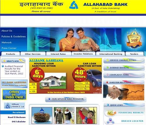 List of Allahabad Bank Branches Agra