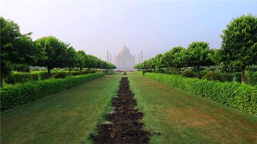 Mehtab Bagh Agra Structure
